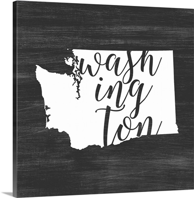 Home State Typography - Washington