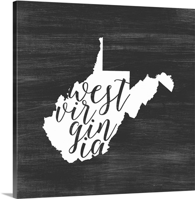 Home State Typography - West Virginia