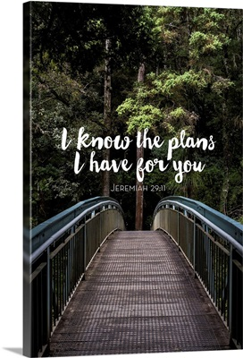 I Know The Plans I Have For You - Scripture