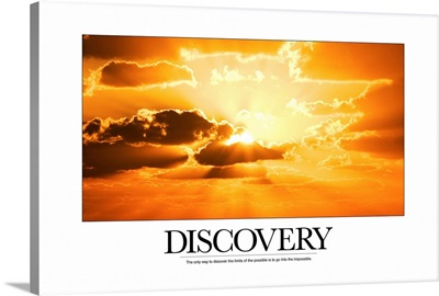 Inspirational Motivational Poster: The only way to discover the limits of the possible