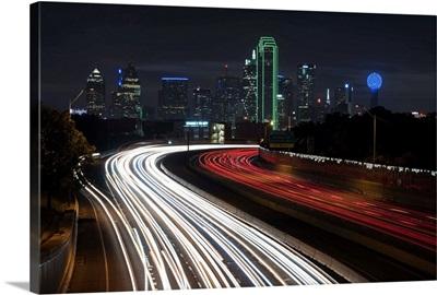 Light Trails at Dallas