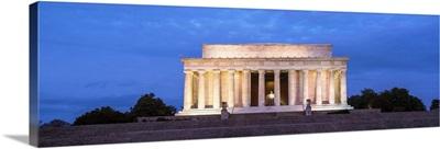 Lincoln Memorial at Night, Washington, DC