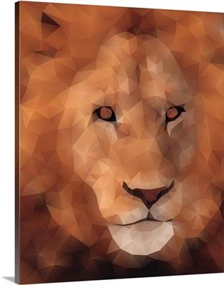 Lion - Low Poly