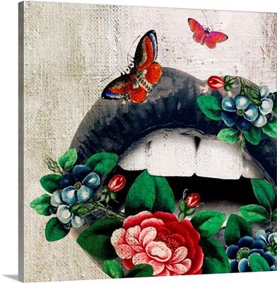 Lips - Garden Butterfly