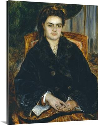 Madame Edouard Bernier (Marie-Octavie-Stephanie Laurens, 1838-1920)