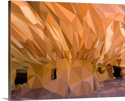 Mesa Verde - Low-Poly Art