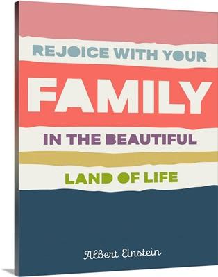 Mid Century - Family Quote