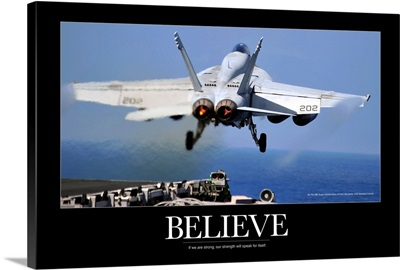 Military Poster: USS Abraham Lincoln