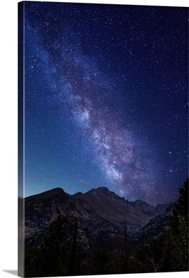 Milky Way Over Rocky Mountain National Park