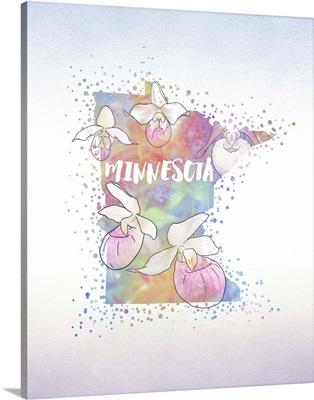 Minnesota State Flower (Lady Slipper)