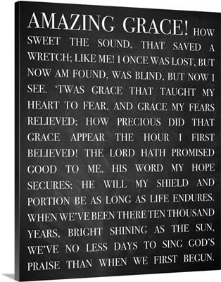 Modern Faith - Amazing Grace Lyrics