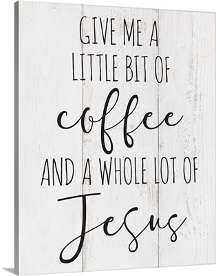 Modern Faith - Coffee and Jesus