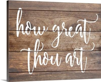 Modern Faith - How Great Thou Art