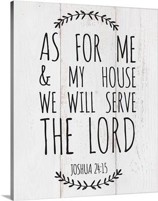 Modern Faith - Joshua 24:15