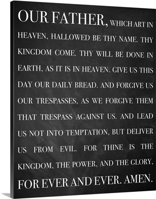 Modern Faith - Lord's Prayer