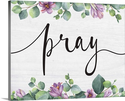 Modern Faith - Pray Floral