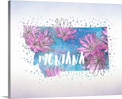 Montana State Flower (Bitterroot)