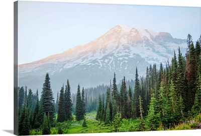 Mount Rainer Peak, Mount Rainier National Park, Washington
