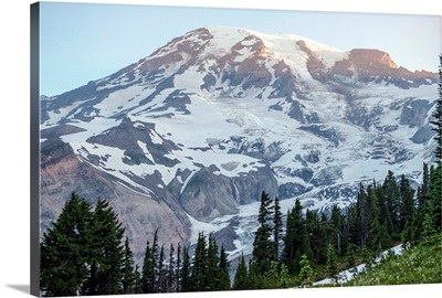 Mount Rainier Peak, Mount Rainier National Park, Washington