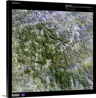 Namaqualand - USGS Earth as Art
