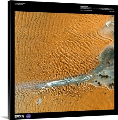 Namib Desert - USGS Earth as Art