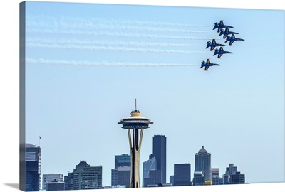 Navy Jets Over Seattle