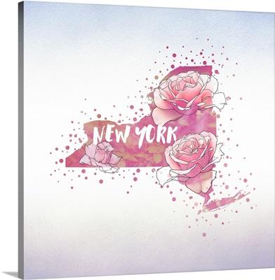 New York State Flower (Rose)
