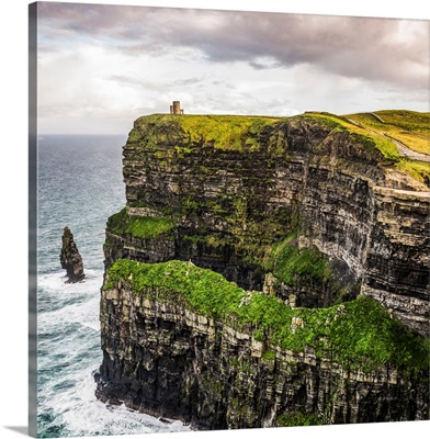 O'Brien's Tower, Cliffs of Moher, Ireland - Square