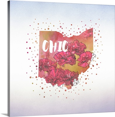 Ohio State Flower (Red Carnation)