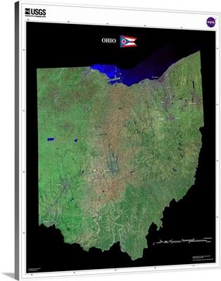 Ohio - USGS State Mosaic