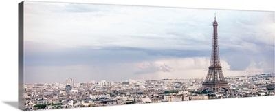 Panoramic Eiffel Tower City View