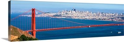 Panoramic Golden Gate Bridge, San Francisco