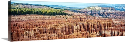 Panoramic view from Inspiration Point, Bryce Canyon, Utah