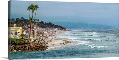 Panoramic View Of La Jolla Coast, San Diego, California