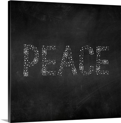 Peace Starburst - Dark Gray