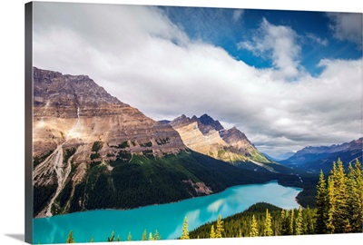 Peyto Lake, Caldron Peak, Banff National Park, Alberta, Canada