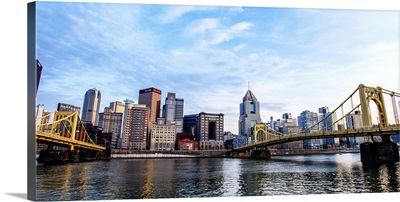 Pittsburgh Downtown with Allegheny River