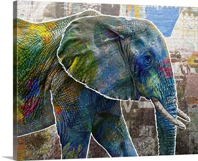 Pop Art - Elephant