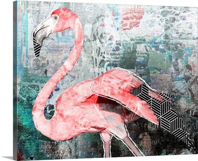 Pop Art - Flamingo