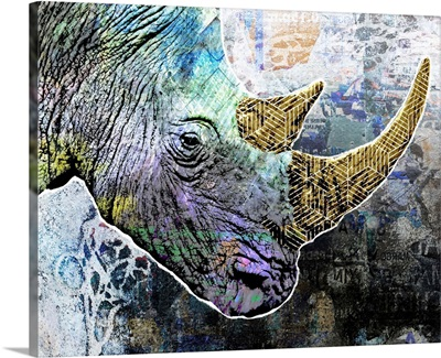 Pop Art - Rhino