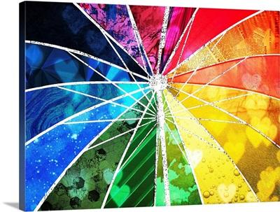 Pop Art - Sunshower Umbrella