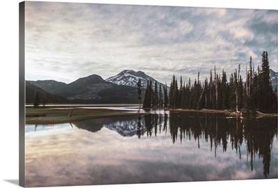 Reflection At Deschutes National Forest, Bend, Oregon