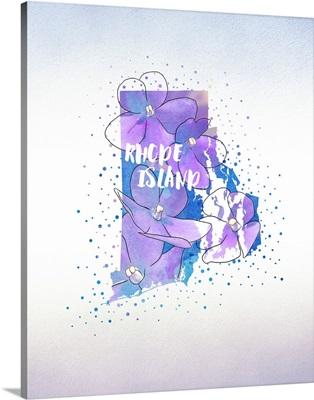 Rhode Island State Flower (Violet)