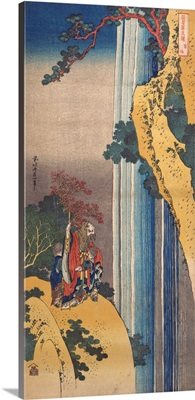 Ri Haku from the series Mirrors of Japanese and Chinese Poems (Shiika shashin kyo)