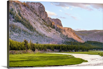 River in Yellowstone