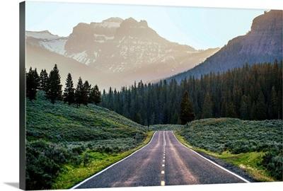 Road Through Yellowstone