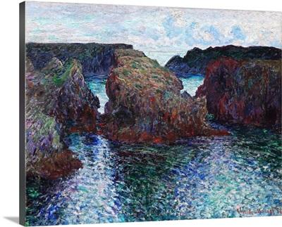 Rocks at Port-Goulphar, Belle-Ile
