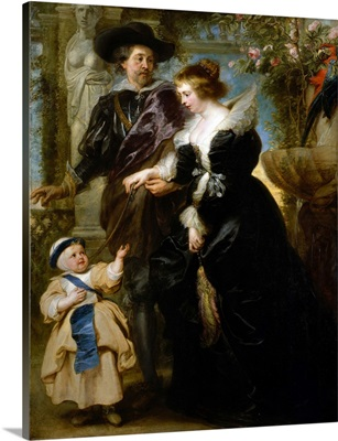 Rubens, His Wife Helena Fourment (1614-1673), and Their Son Frans (1633-1678)