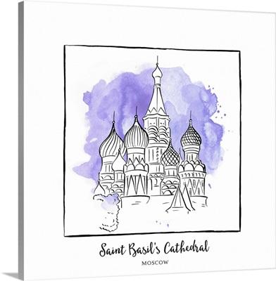 Saint Basil's Cathedral - Brushstroke Buildings