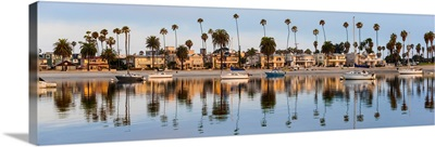 San Diego Coast Reflections - Panoramic
